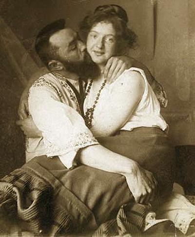 Ströher mit Modell Olga, um 1912